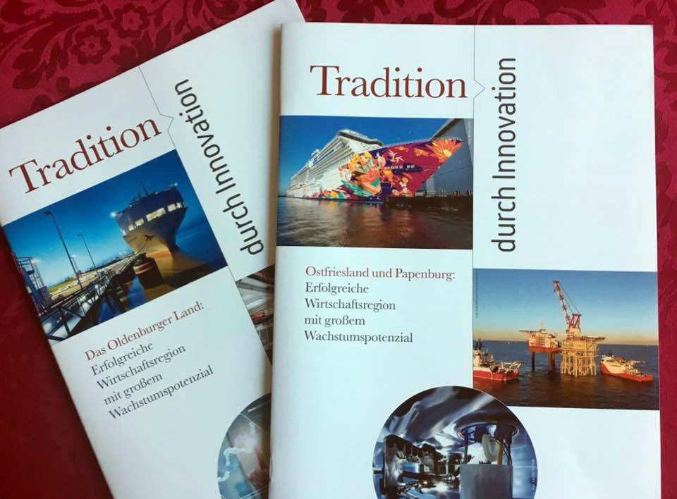 """Fertig! """"Tradition durch Innovation"""""""