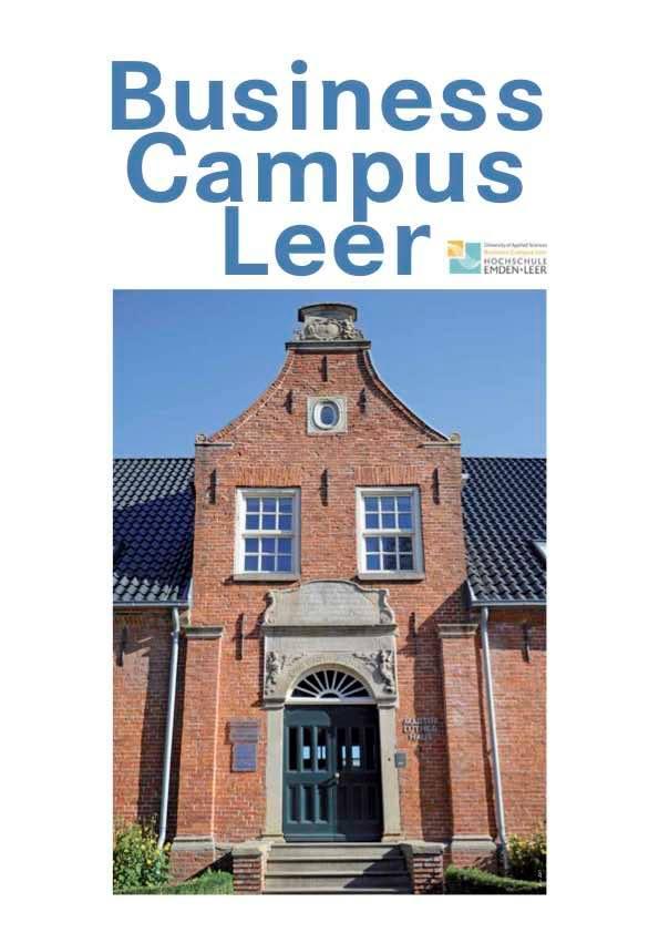 Magazin über neuen Business Campus Leer