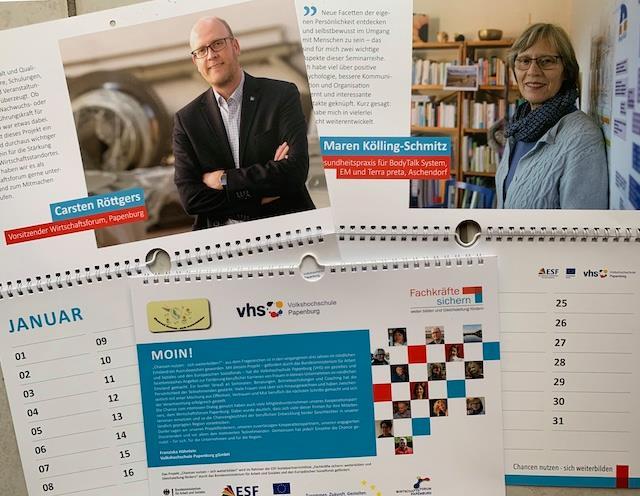 Kalender als Abschlussdokumentation