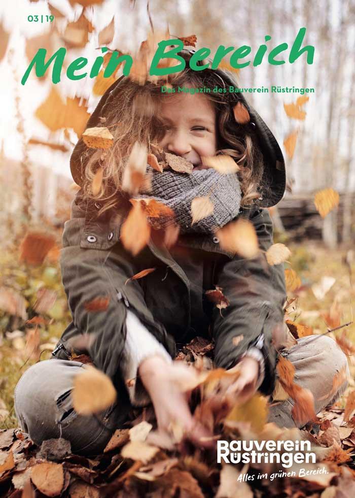 Kunden-Magazin Bauverein Rüstringen