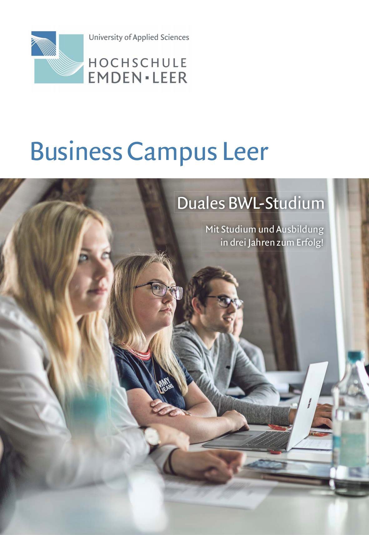 Magazin für den Business Campus Leer (BCL)